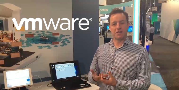 Partnering with VMWare at HIMSS